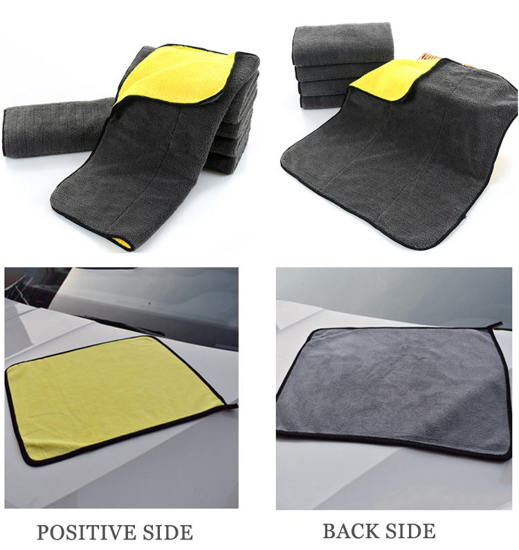850 GSM Super Thick Microfiber Car Cleaning Cloth Towels