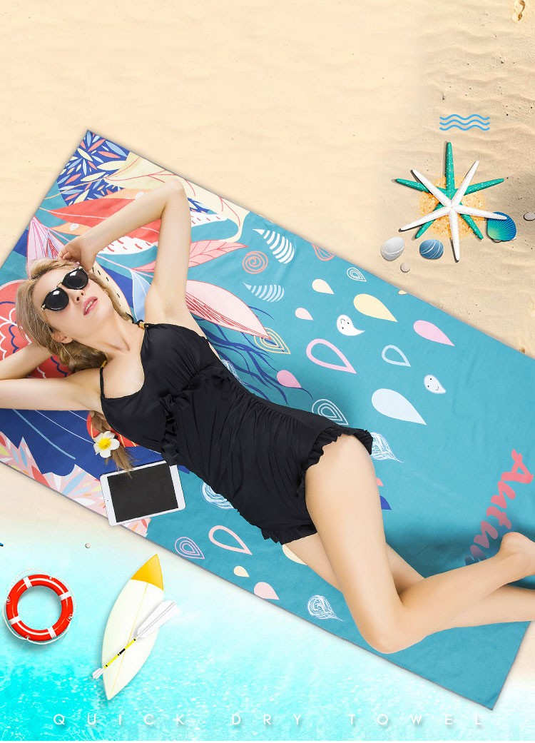 microfiber beach towel wholesale