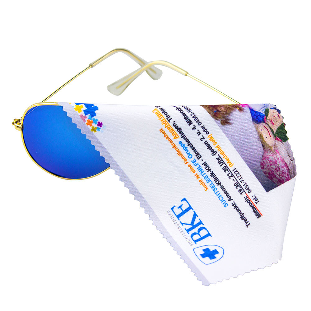 Microfiber Cleaning Cloth For eyeglass and Screen